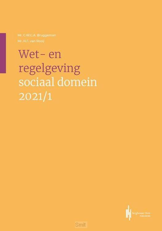 Wet-en regelgeving sociaal domein 2021/1
