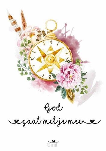 Kaart God gaat met je mee