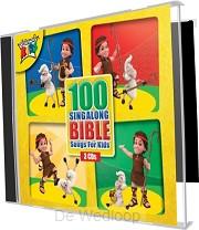 100 Sing Along Bible Songs For Kids 3cd