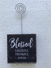 Blessed grateful thankful loved