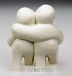 Beeld 1c mijn wereld 9cm ivoor