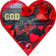 90-05 hart met envelop luxe kaart