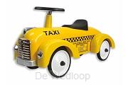 Stoere loopauto Taxi