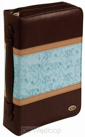 Biblecover - Fish - TwoTone LuxLeather