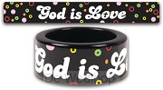 God Is Love - Size 6 (Fun Ring)