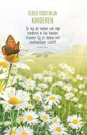 Wenskaart gebed voor mijn kinderen