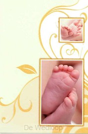 Wenskaart baby