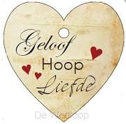 Geloof hoop en liefde