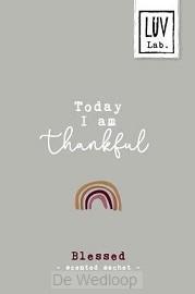 Geurzakje Today I am thankful