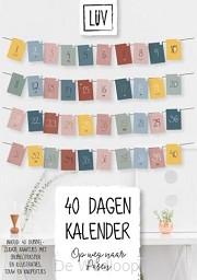 LUV 40 dagen kalender
