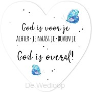 God is voor je