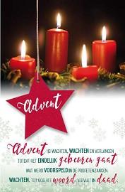 Wenskaart Advent