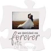 We decided on forever - Photo 5 x 7,5 cm