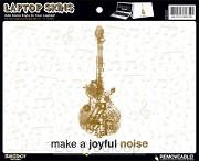 Make A Joyful Noise - Laptop Aufkleber
