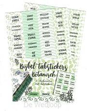 Bijbel tabstickers Botanisch