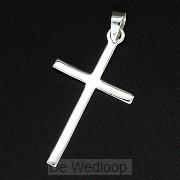 925 Silver Pendant Cross 25x13x1mm