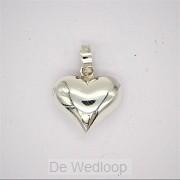 925 Silver Pendant Heart Amore 14x14x6,5