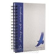 Be strong and courageous - Blue (Journal