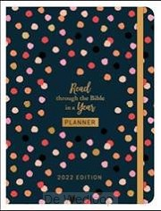 2022 Planner Read through the bible/year