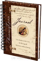 Amazing Grace - Journal (Tagebuch/Notizb