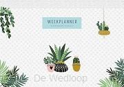 Weekplanner Houseplants