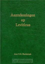 Aantekeningen op leviticus