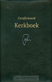 Gereformeerd kerkboek groot leer goudsne