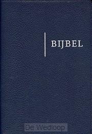 Bijbel nbv blauw edge lined