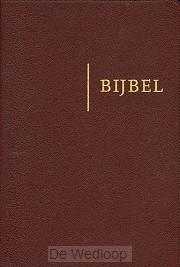 Bijbel hsv bruin edge lined