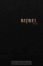 Bijbel HSV met Ps-vivella zwart goudsnee