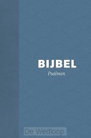 Bijbel HSV met Psalmen - hardcover blauw