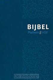 Bijbel HSV met Ps-vivella blauw zilversn