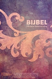Bijbel HSV - foam paars 12x18cm