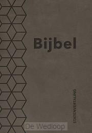 Bijbel (SV) met psalmen (ritm) taupe