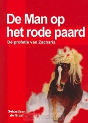 Man op het rode paard