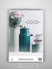 Weekplanner 2020 landelijk met bijbeltek