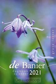 Banier Dagboekkalender 2021 (grote lette
