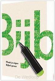 Maak je eigen Bijbel groen