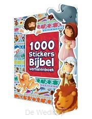 1000 Stickers Bijbel verhalenboek
