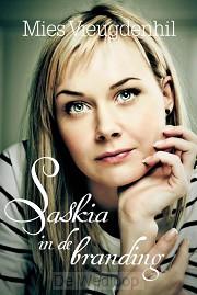 Saskia in de branding