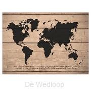 Wandbord God had de wereld zo lief