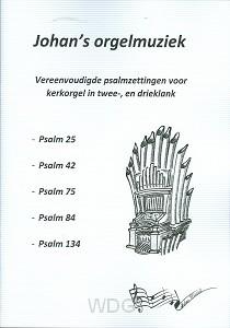 Psamzetting dl 1 voor kerkorgel 2+3klank