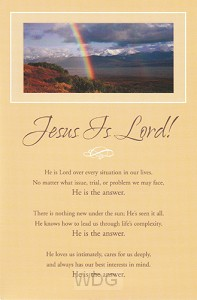 Jesus Is Lord (6)