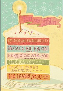 You are God's delight (Birthday - 6 piec