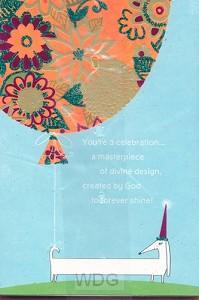 You're a celebration... (Birthday - 6 pi