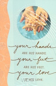 Your hands are His hands (Thank you - 6