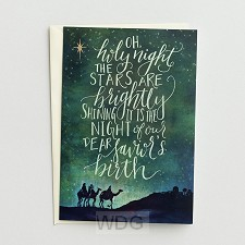 Oh holy night - 18 cards