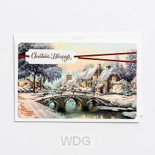 Christmas blessings - Kinkade - 18 cards
