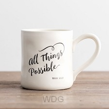 All things possible Mark 10:27