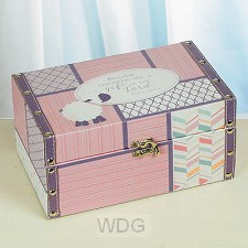Baby keepsake box girl